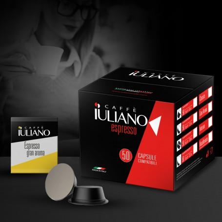 BOX 50 COMPATIBLE LAVAZZA ESPRESSO POINT®* COFFEE CAPSULES Espresso Gran Aroma