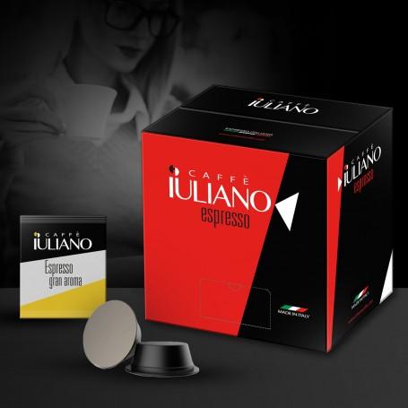 BOX 100 COMPATIBLE LAVAZZA ESPRESSO POINT®* COFFEE CAPSULES Espresso Gran Aroma